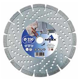 Leman reinforced concrete cutting discs